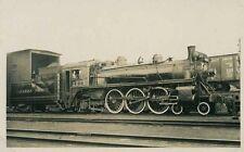 A527 RPPC 1954 CPR CANADIAN PACIFIC RAILROAD TRAIN ENGINE #2222 MONTREAL PQ