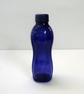 TUPPERWARE-EcoEasy-Okoflasche-Trinkflasche-Schraubverschluss-500ml-DUNKELBLAU