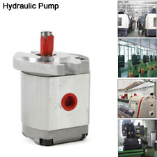 Single Hydraulic Gear Pump Mini Gear Pump 21mpa Sae Alloy Flat Key 3200rpm 6mlr