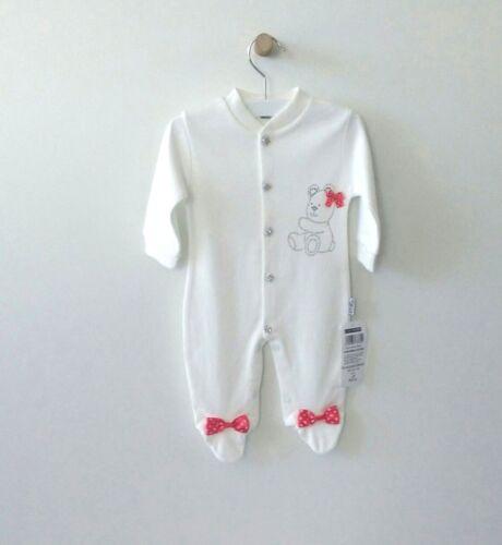 NEU Esa Baby Strampler Jumpsuit Einteiler 2er SET 56 62 68 Weiß Mädchen Glitzer