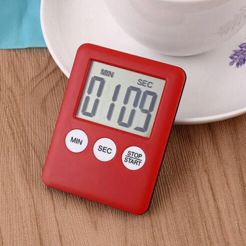 Ultrathin magnétique Digital Numérique LCD cuisine minuteur cuisson alarme compteur Count Up Down