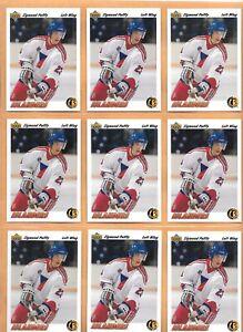 HOCKEY-CARDS-91-92-UPPER-DECK-9-CARD-ROOKIE-LOT-ZIGMUND-PALFFY-71