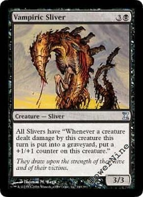 x 4 Time Spiral Playset Magic the Gathering MTG 4x Quilled Sliver x4 LP//LP