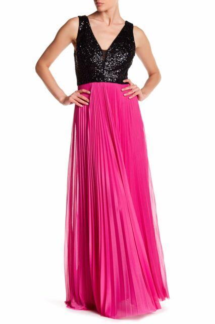 Nicole Miller Silk Dupioni Origami Pleated Wedding Gown Dress 6