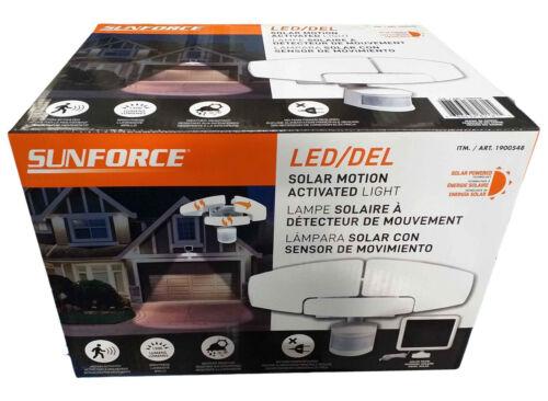 Sunforce 1500 Lumen LED Motion Sensor Security Light / Floodlight & Solar Panel