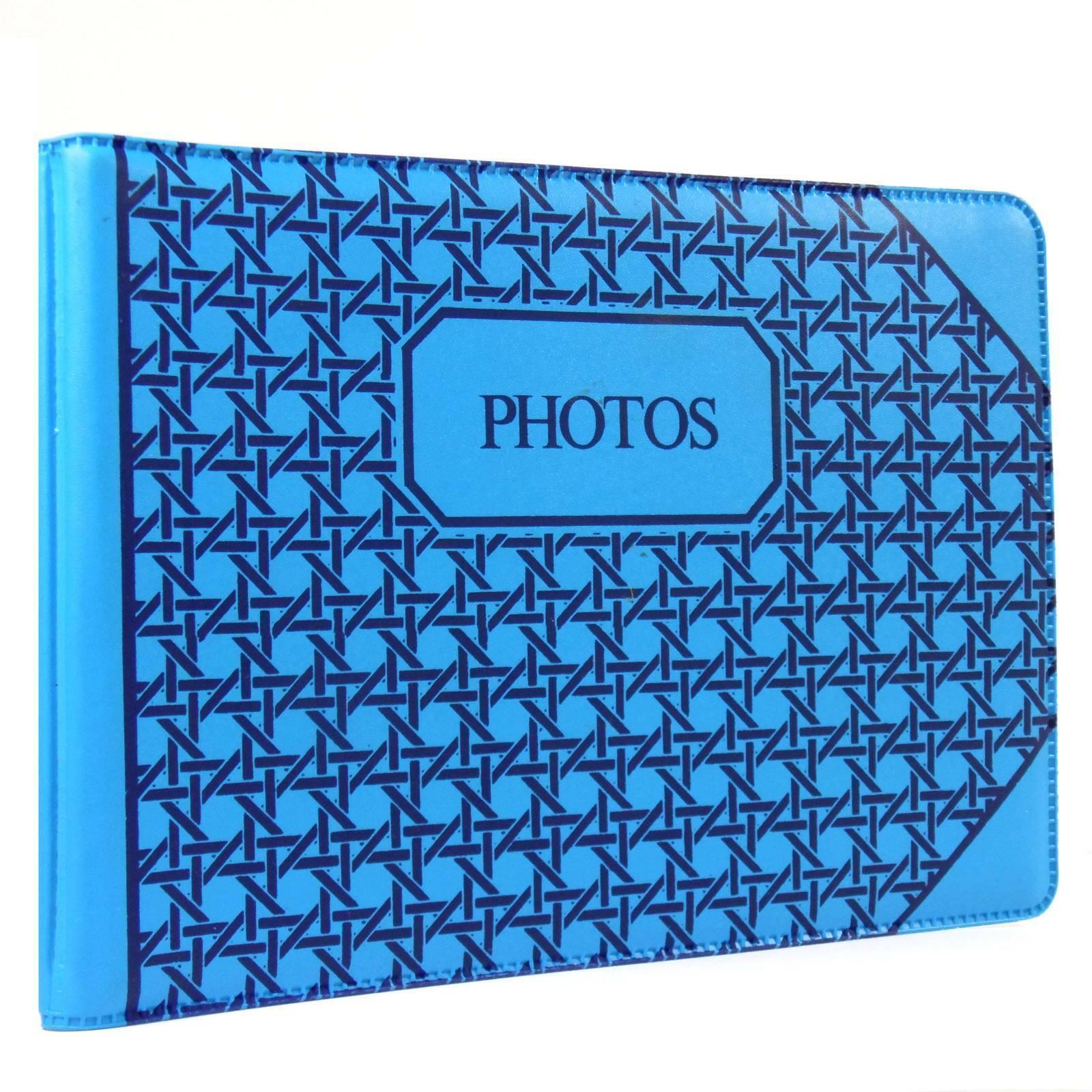 1 x 35mm Photo Album 6x4 Postcard Size Slip In Design Holds 24 Prints