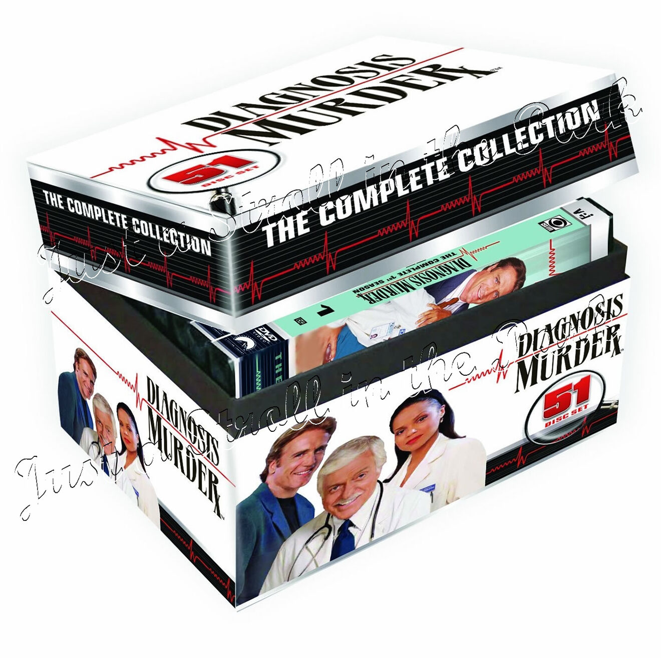 Diagnosis Murder: Complete Series TV Seasons 1-8 + 5
