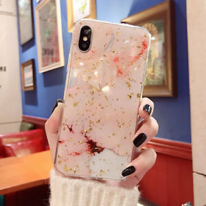 iPhone-XS-Max-XR-8-7-6-Plus-Case-Shockproof-Tough-Marble-Soft-Cover-for-Apple