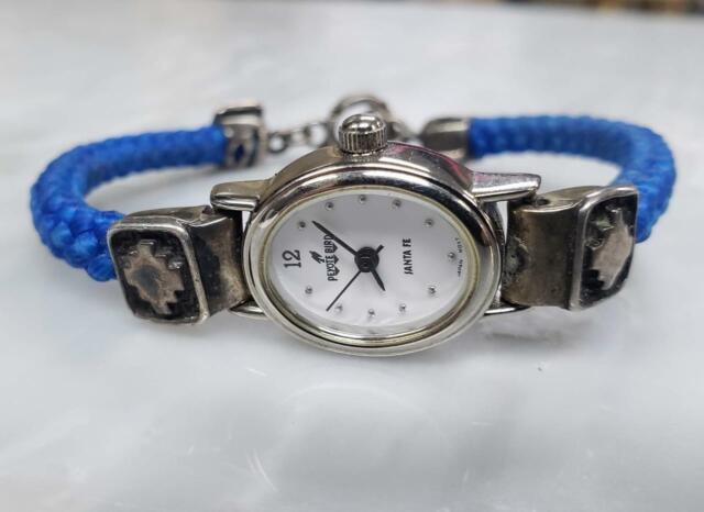 Peyote Bird Women's Wristwatch Bracelet With Sterling Silver ~ 18.7g ~ 4-C4198
