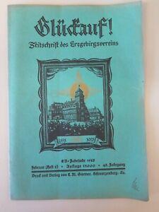 Glueckauf-Zeitschrift-des-Erzgebirgsvereins-1928-Heft-2-Februar-48-Jg