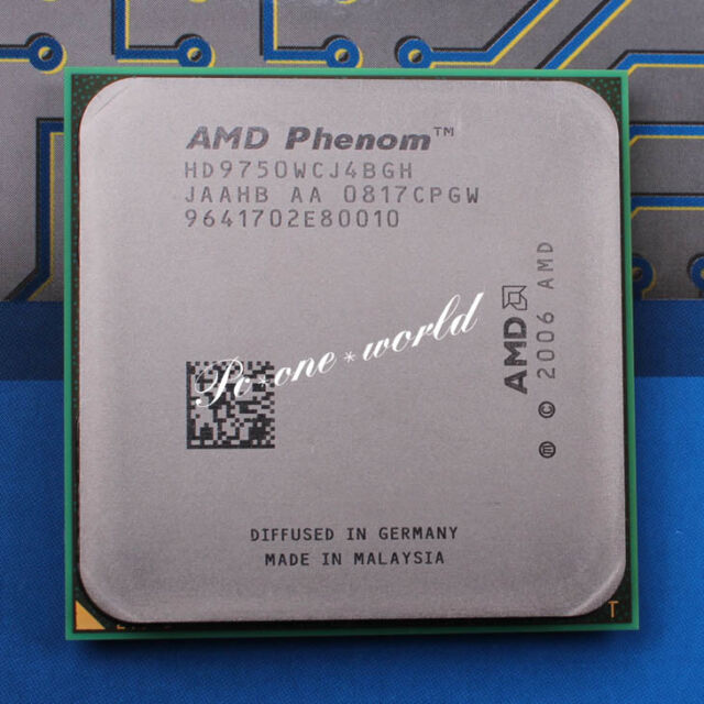 100% OK HD9750WCJ4BGH AMD Phenom X4 9750 2.4 GHz Quad-Core Processor CPU