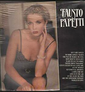 LP-33-Fausto-Papetti-SAME-ITALY-1985-SEALED-PROMO