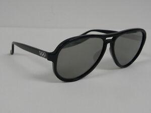 d8072c42e41 Vintage B L Ray Ban 70 S Vagabond Olympic Games Black Silver Mirror ...