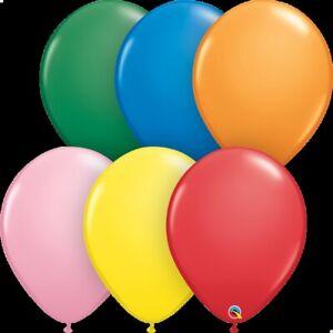 "Air Latex  Balloons Party Decorations 100  Qualatex Pearl//Metallic 11/""  Helium"