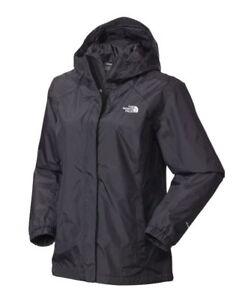THE-NORTH-FACE-Women-039-s-Stinson-Rain-Jacket-Mnt-Sport-Hike-Black-sz-XS-S-M