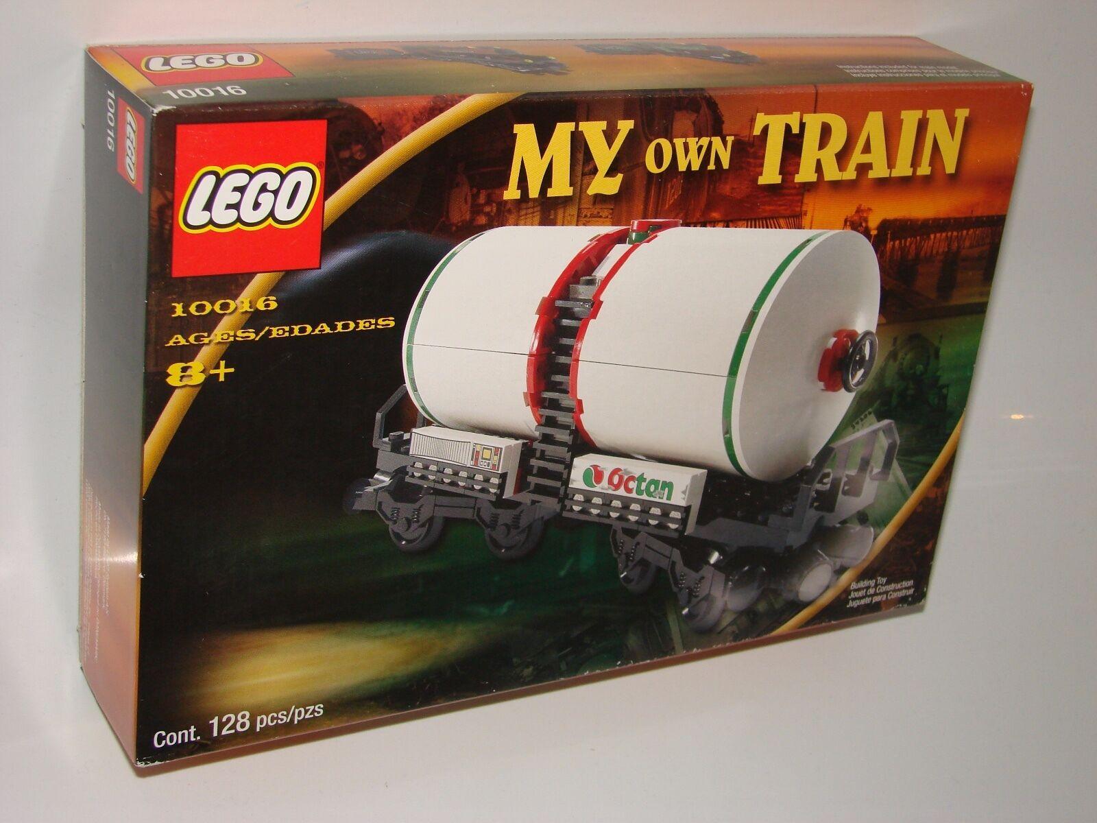 LEGO ® My Own Train 10016 CAMION CITERNE NEUF neuf dans sa boîte _ pétrolier NEW En parfait état, dans sa boîte scellée Boîte d'origine jamais ouverte