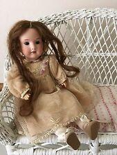 Antique Bisque Head Armand Marseille A M 390 German Doll composition Wood body