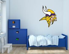 Minnesota Vikings NFL Football Wall Decal Vinyl Sticker For Room Home Car