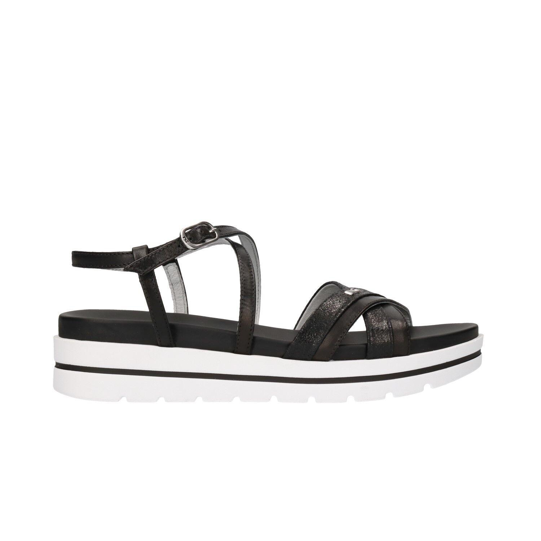 NERO nero GIARDINI Sandali scarpe donna nero NERO 5850 mod. P805850D 3e8c7a