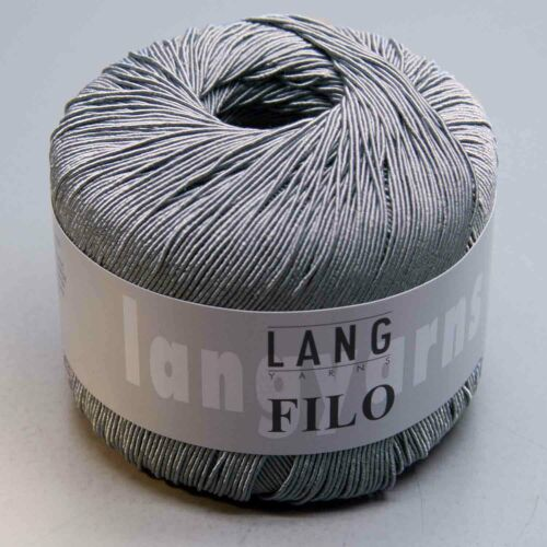 Lang Yarns Filo 45-LL 200 m//50 g-aiguille Force 3-3,5