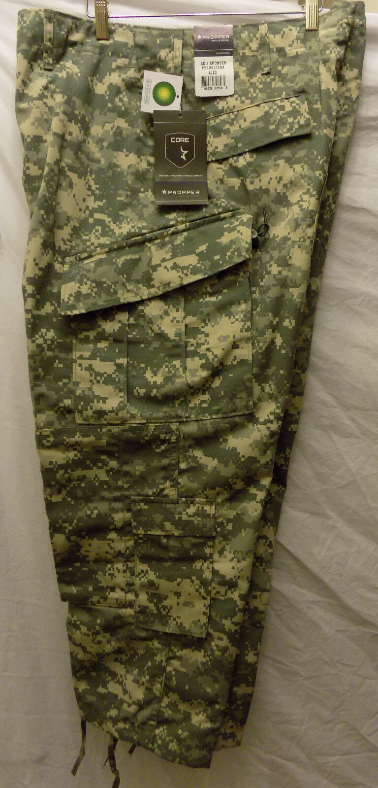 Mens XLXS Propper ACU Trousers US ARMY UNIVERSAL Battle Pants Ripstop New Spec