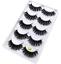 NEW-5-Pairs-Layered-False-Eyelashes-Dramatic-3D-Wispy-Lashes-Makeup-Strip-UK thumbnail 16