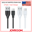 3-Pack-Micro-USB-USB-Type-C-Data-Sync-Charger-Charging-Cable-Cord-Samsung-LG thumbnail 1