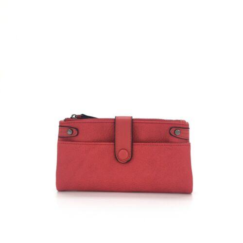 Ladies Large Bifold Soft Light Purse Double Zipped Compartments Women/'s Wallet