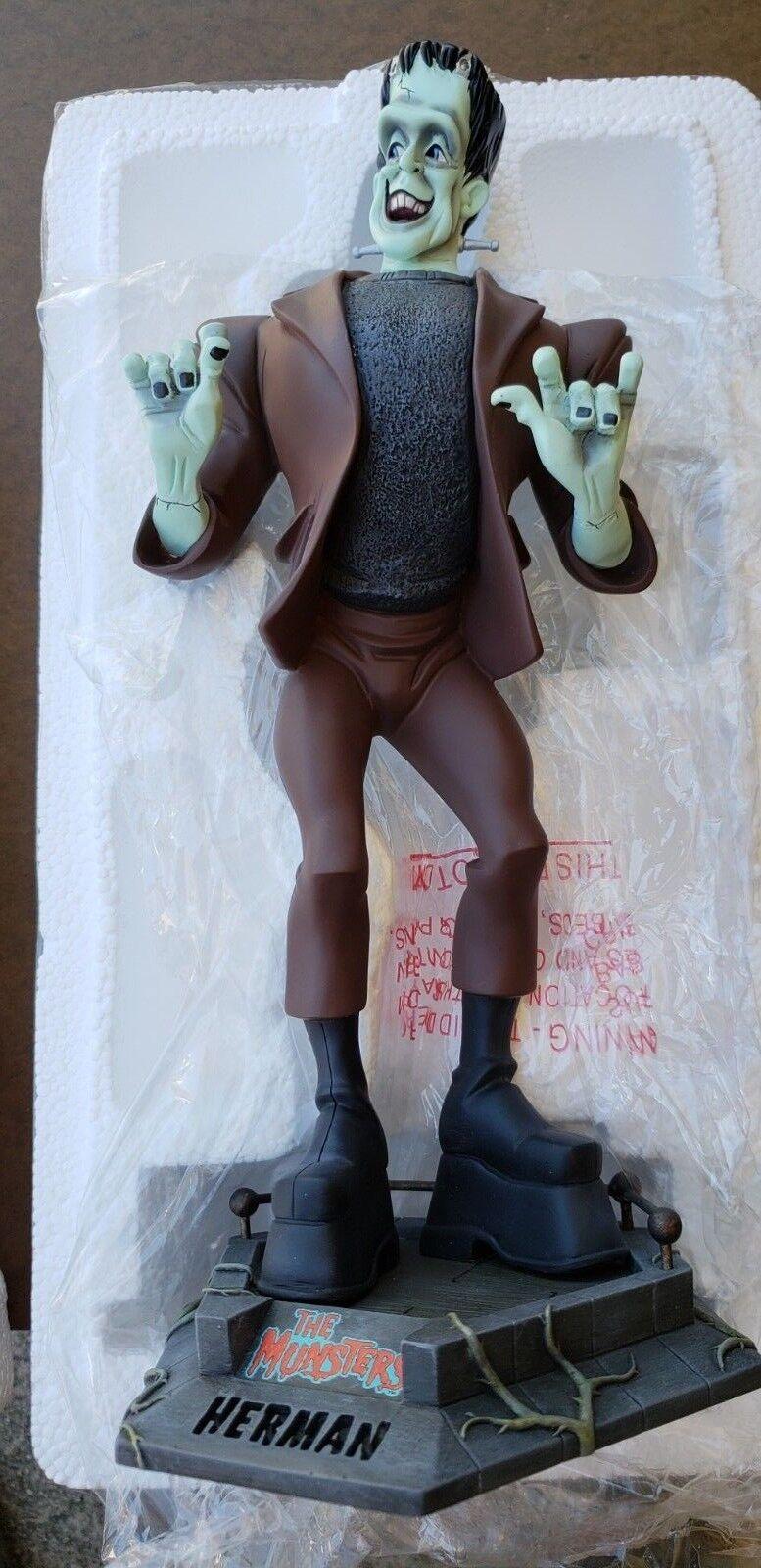 Electric Tiki Tiki Tiki HERMAN MUNSTER maquette bust statue figure ea4
