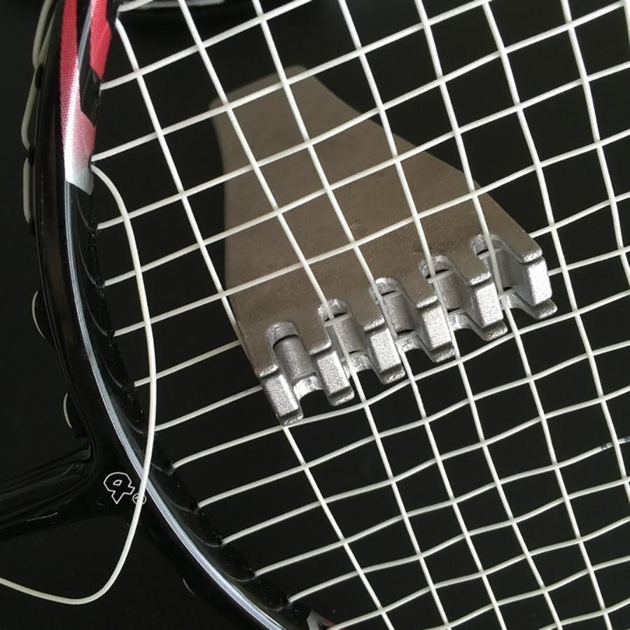 2pcs in Tennis Stringa in 2pcs metallo Flying Clamp stringa in metallo MACCHINE UTENSILI Badminton Velocità 8d3c04