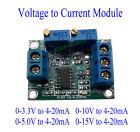 Voltage to Current 0-10V 0-5V to 4-20mA Isolation Transmitter Signal Converter