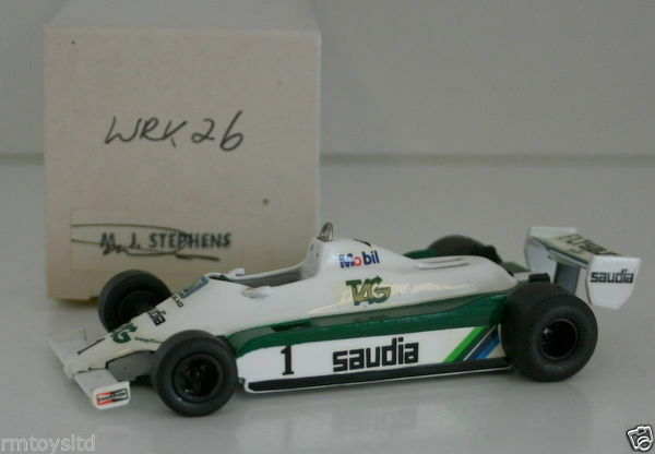 WESTERN MODELS SIGNED 1st VERSION - 1 43 SCALE WRK26 LEYLAND WILLIAMS FW07B
