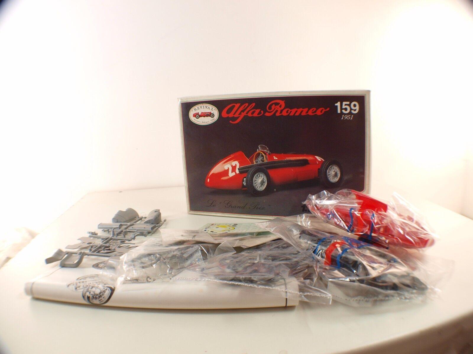 Revival i N.86101 Alfa Romeo 159 1951 il Grande Prezzo Scatola Kit Nuovo 1 20