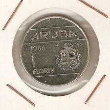Aruba: 1 Florin 1986 UNC