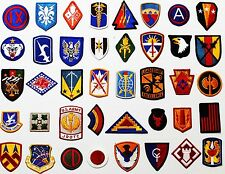 40 US Army All Different Full Color Military Patches plus 6 Patch Bonus Lot #440