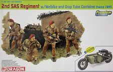 Dragon 6586: 1/35 WWII British Airborne 2nd SAS Regiment w/Welbike & Drop Tube