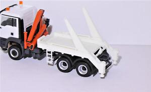 1:87 EM3770 Absetzaufbau für LKW in weiß ideal f. Herpa Umbau / Eigenbau