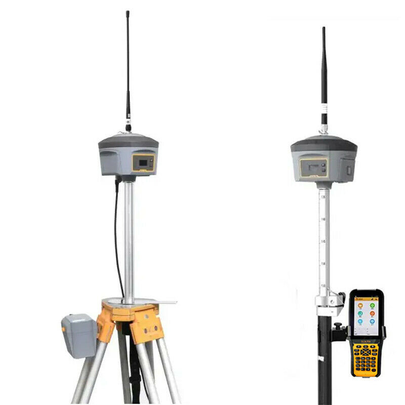 South Galaxy G6 GPS GNSS receiver base and rover with field data controller