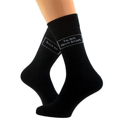 Trust me I/'m a Farmer Woven Mens Socks UK 5-12 X6S154