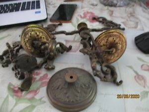 lots-de-piece-bronze-pour-pendule-empire