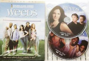 WEEDS-Season-1-2-Discs-Plays-on-PAL-4-DVD-Comedy-Free-AU-Standard-Post-Like-NEW
