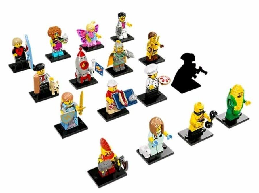 LEGO 71018 MINIFIGURES SERIES 17 COMPLETE