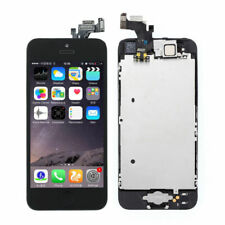LCD Display Touch Screen Digitizer Assembly Replacement for iPhone 5 Tools Black