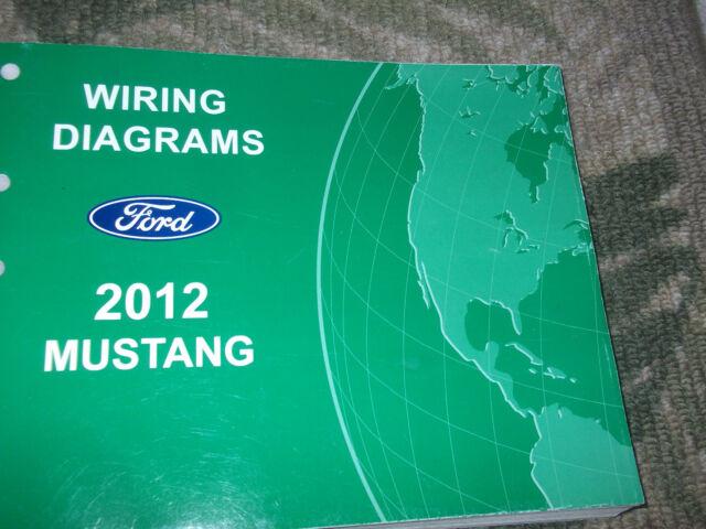 2012 Ford Mustang Electrical Wiring Diagram Diagrams Troubleshooting Manual Ewd