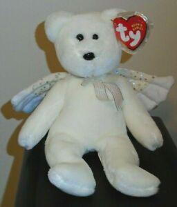 41000296747 Ty Beanie Baby ~ HERALD the Angel Bear (Christmas)(8.5 Inch) MWMT ...