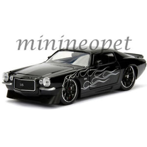 Jada 99970 Bigtime Muscle 1971 Chevy Camaro 1 24 Black With Matte
