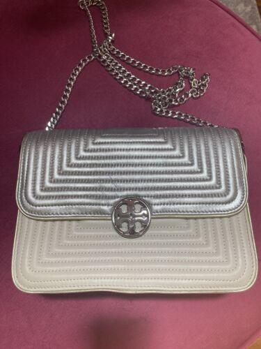 Tory Burch Duet Chain Trapunto Handbag