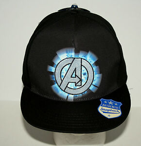 Image is loading Marvel-Comics-The-Avengers-Assemble-Trucker-Cap-Hat- c232d88a164