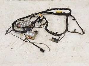 Jeep Wrangler TJ Under Dash Fuse Box Wiring Harness 1998 soft top