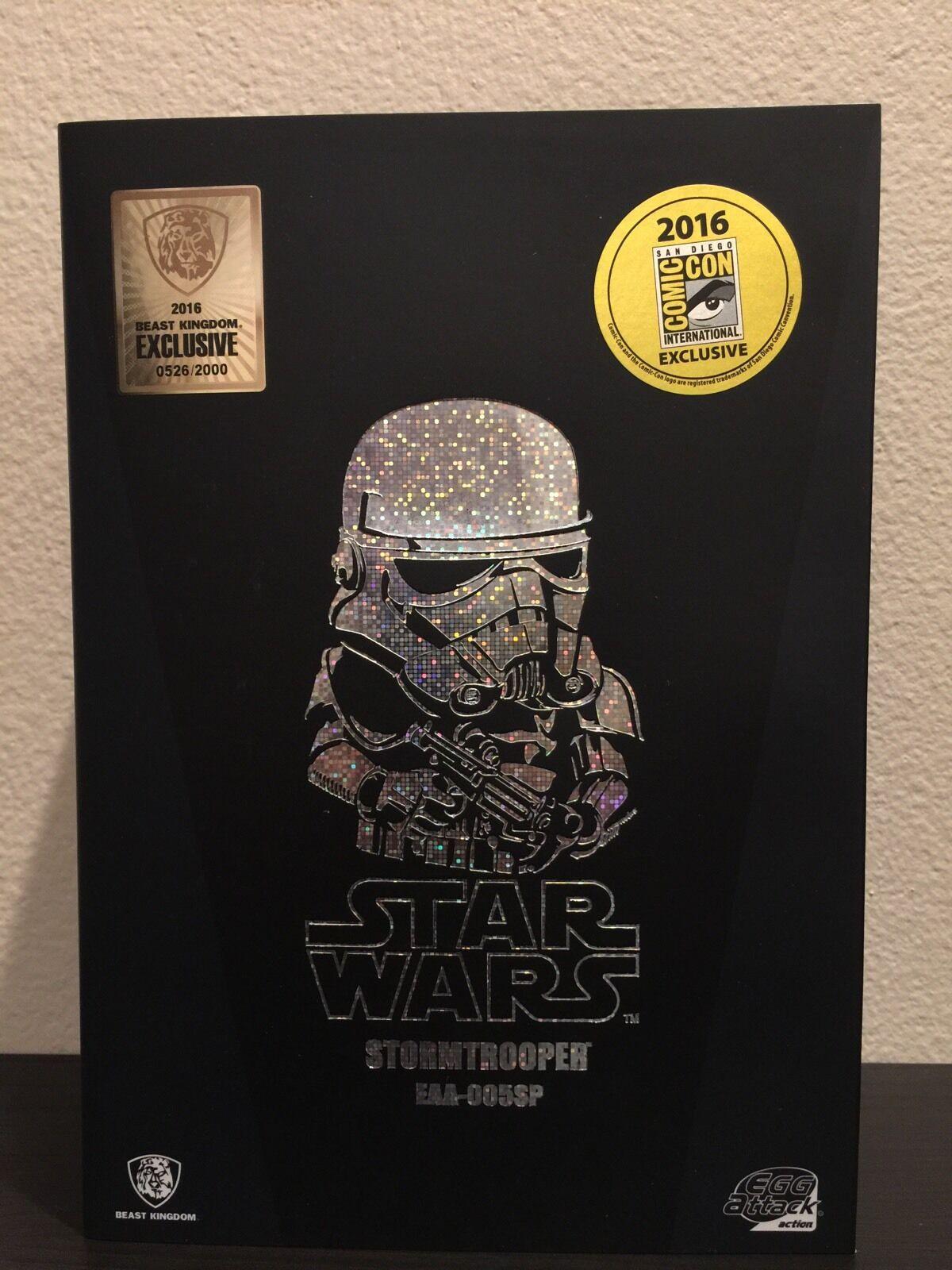 Star Wars Egg Attaque Stormtrooper  Beast Kingdom  San Diego comic-con Exclusive  EAA-005SP